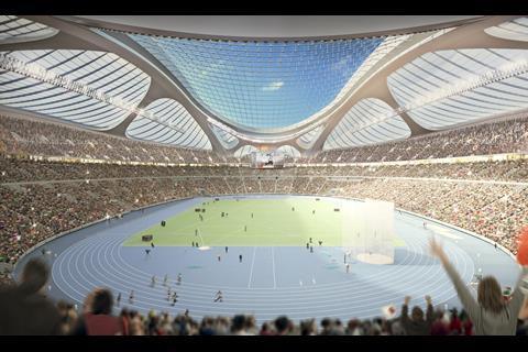 ZHA Tokyo stadium